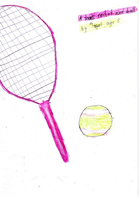 Sports shop-tennis racket